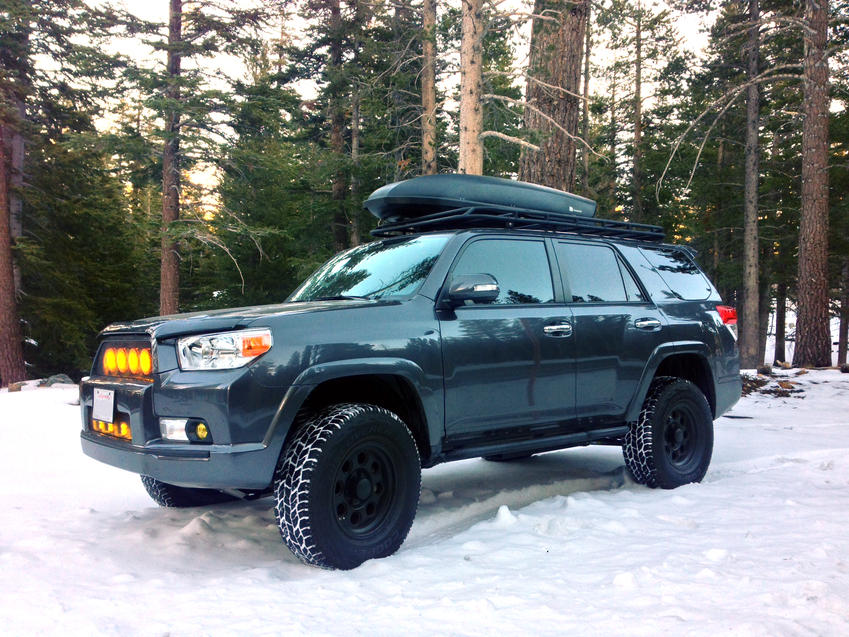 Ladder Roof Rack >> FS 5th Gen. Full Length Roof Racks by drabbits - Page 13 - Toyota 4Runner Forum - Largest ...